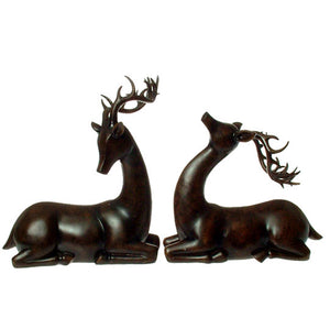 Woodland Deer Resting Set/2