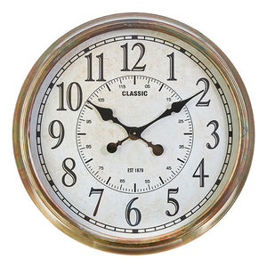 "Oversized Traditional 24"" Clock"