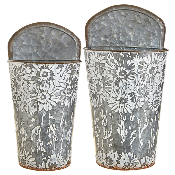 Floral Print Wall Decor Set/2