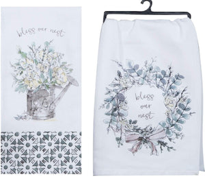 Modern Farmhouse Terry & Flour Sack Set/2