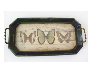 Botanical Butterfly Tray
