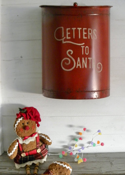 Nesting Letters to Santa Mailbox Set/2