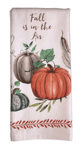 Fall is in the Air Tea Towel