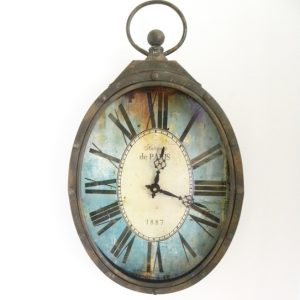 Iron Wall Clock-Long