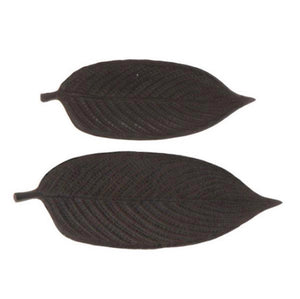 Iron Leaf Plate Set/2