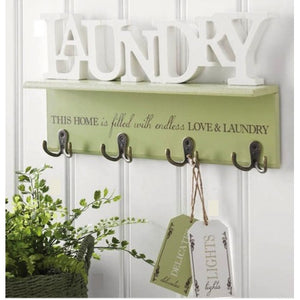 Love and Laundry Wall Sign