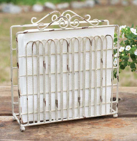 Garden Gate Napkin Holder