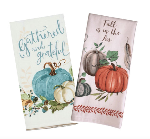 Harvest Pumpkin Towel Set