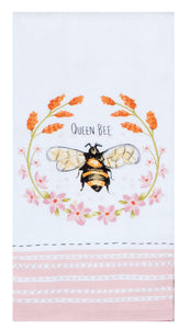 Bee Inspired Queen Bee Terry Towel