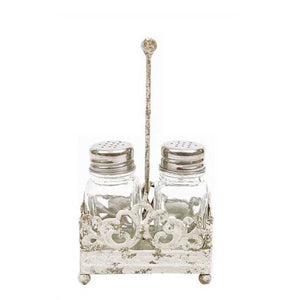 Scrollwork Salt & Pepper Set