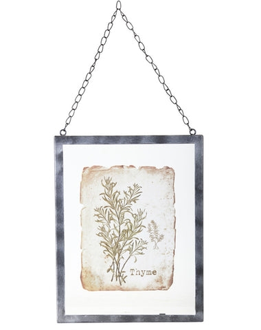 Thyme Herb Wall Frame
