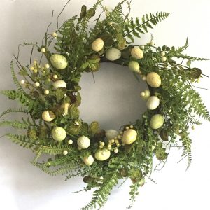 Natural Twig Fern Wreath