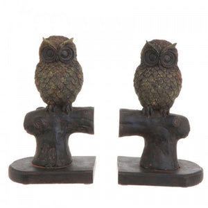 Owl Bookends Set/2