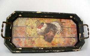 Harvest Turkey Tray
