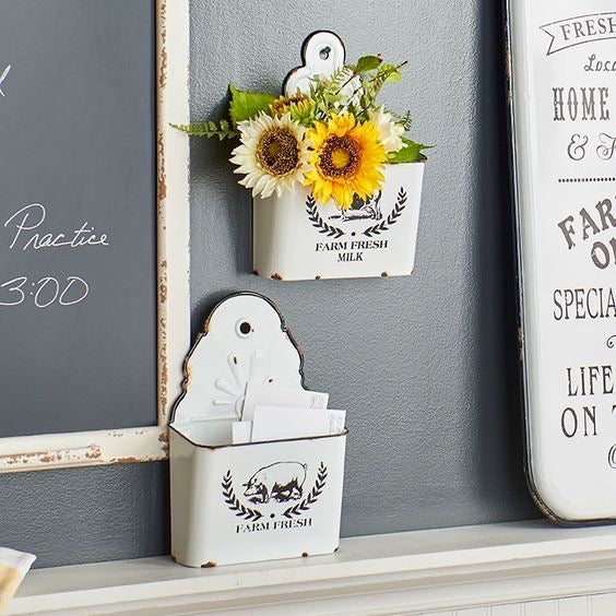 Farm Fresh Wall Bins Set/2