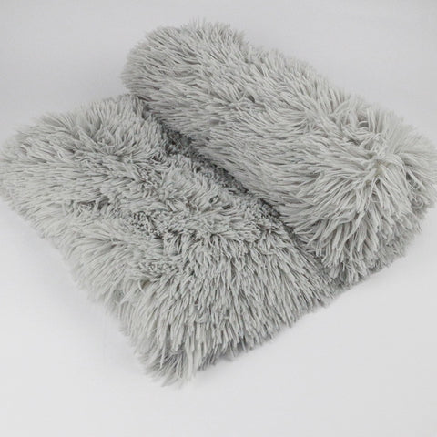 Plush Pet Dog Bed