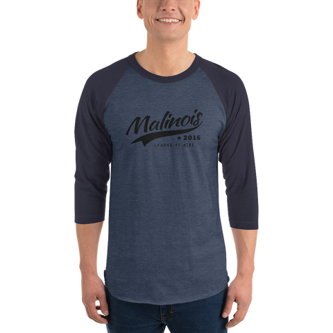 Signature Men's Baseball 3/4 Long Sleeve tee