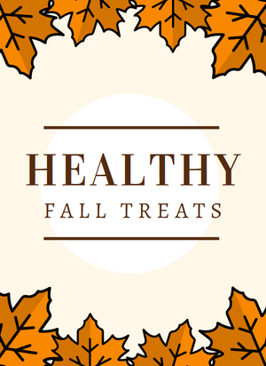 Healthier Fall Treats