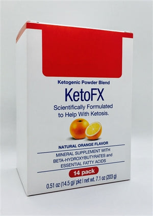 Keto FX - Orange - Bariatric Food Source