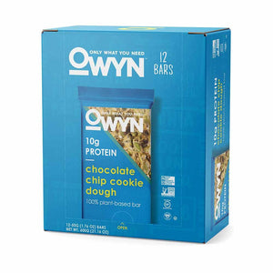 OWYN - Chocolate Chip Cookie Dough Bars 12 Pack