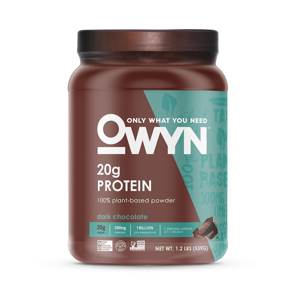 OWYN Plant Protein Powder SHAKE - Dark Chocolate