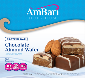 Chocolate Almond Wafer Bars