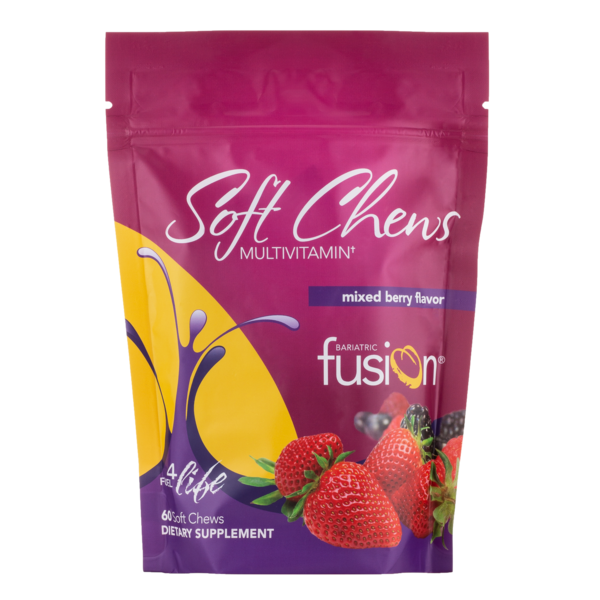 Soft Chews Multivitamin - Mixed Berry (Bariatric Fusion)