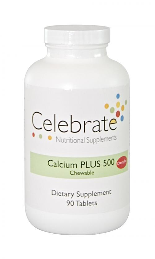Calcium PLUS 500 Chewable (Celebrate)