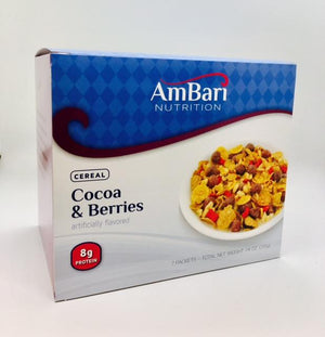 Cocoa & Berries Cereal - Bariatric Food Source