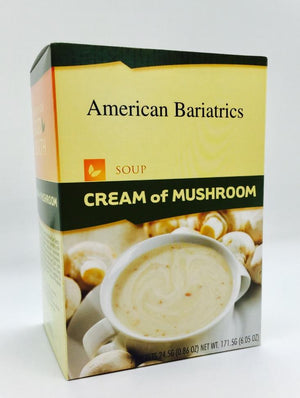 Cream Of Mushroom Soup - Bariatric Food Source