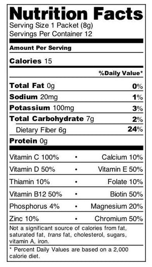Ensulate - Fiber - Bariatric Food Source