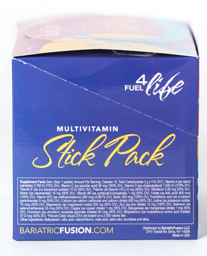 Multivitamin Stick Pack - Mixed Berry - Bariatric Food Source