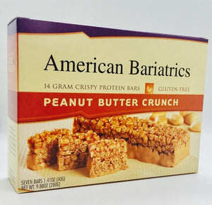 Peanut Butter Crunch Bars - Bariatric Food Source