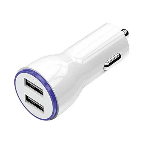 Dual-Port Car Adapter by Mila Lifestyle Accessories