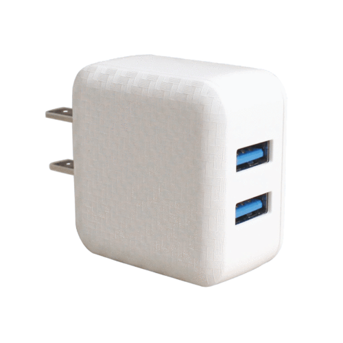 Dual-Port Wall Adapter by Mila Lifestyle Accessories