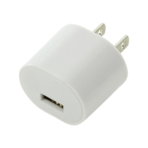 Single-Port Wall Adapter by Mila Lifestyle Accessories