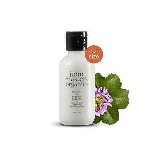John Masters Geranium & Grapefruit Body Milk 2 oz