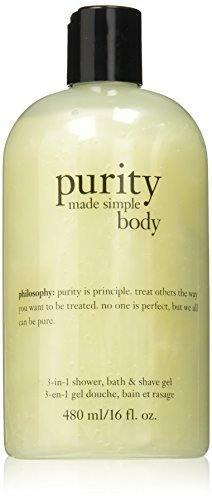 Philosophy Purity Made Simple Body 3-in-1 Shower Bath and Shave Gel, 16 Ounce