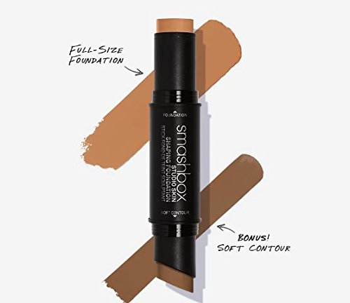 Smashbox Studio Skin Shaping Foundation Stick 3.3 Warm Medium Beige + Soft Contour
