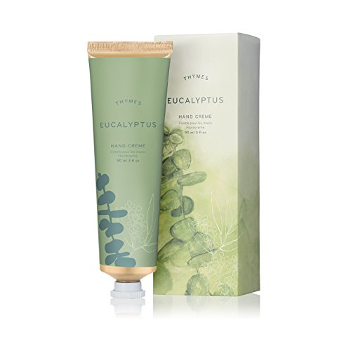 Thymes - Eucalyptus Hand Crème - Deeply Moisturizing Cream for Men & Women - 3 oz