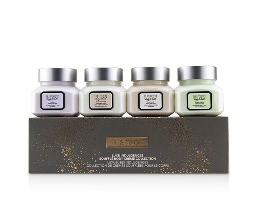 Laura Mercier Luxe Indulgences Souffle Body Creme Collection (4 Mini Souffle Body Cremes)