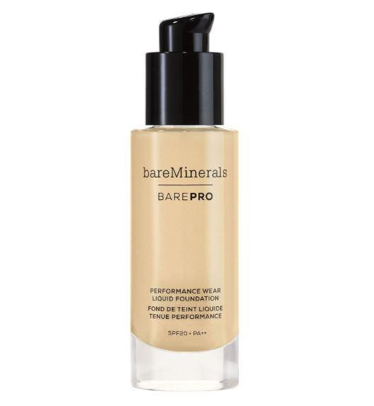 BAREPRO Performance Wear Liquid Foundation Spf 20 Camel 17