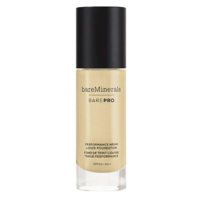 BAREPRO Performance Wear Liquid Foundation Spf 20 Golden Ivory 08