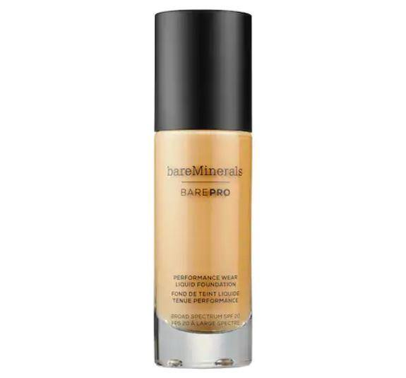 BAREPRO Performance Wear Liquid Foundation Spf 20 Honeycomb 20