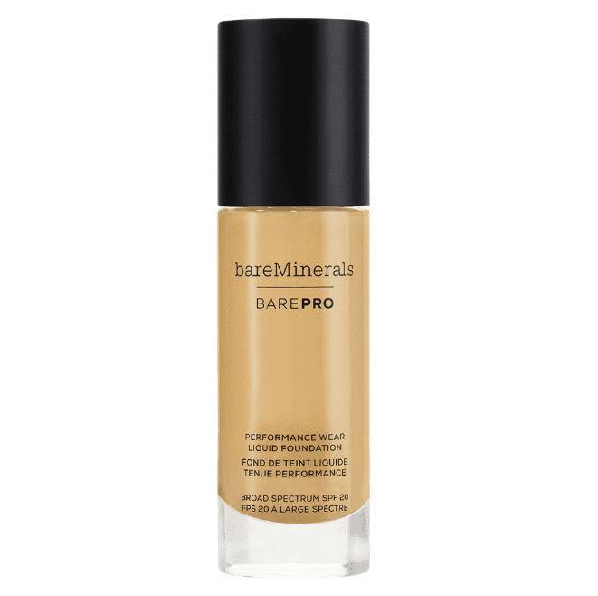 BarePro Performance Wear Liquid Foundation Toffee 19, 1 Fluid Ounce