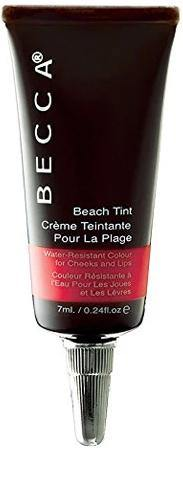 Becca Beach Tint Water Resistant Color for Cheeks and Lips, Papaya, 0.24 Ounce