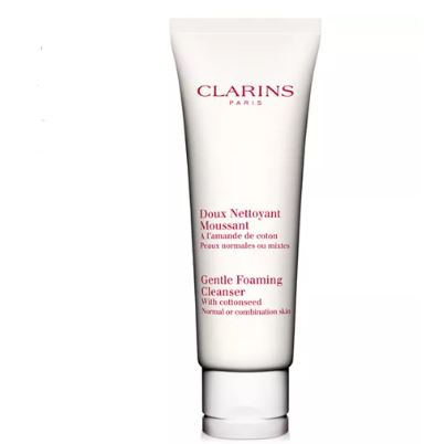 Clarins Gentle Foaming Cleanser, with Cottonseed - Normal or Combination Skin