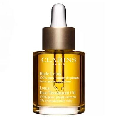 Clarins Face Treatment Oil, Lotus - Oily or Combination Skin