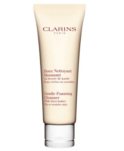Clarins Gentle Foaming Cleanser, with Shea Butter - Dry or Sensitive Skin