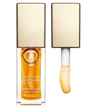 Clarins Instant Light Lip Comfort Oil - Honey